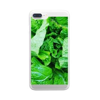 白菜 Clear smartphone cases
