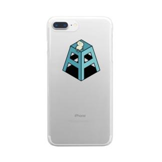 ブランドロゴ Clear smartphone cases