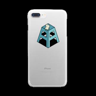 Grün Libelle商店のブランドロゴ Clear smartphone cases