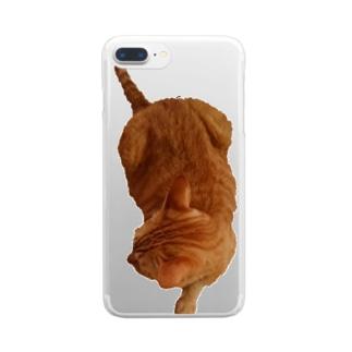 ツチノコ風Ta-nan Clear smartphone cases