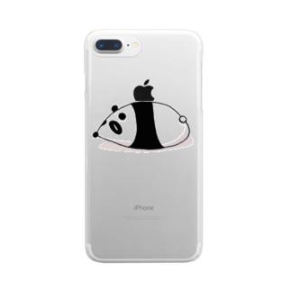 くそパンダ Clear smartphone cases