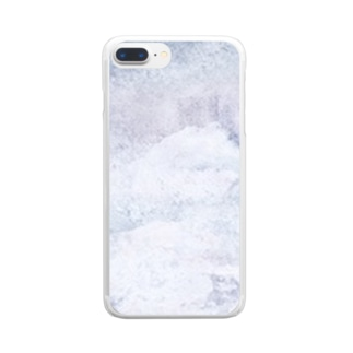 空のこころ Clear smartphone cases