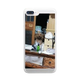 うちの愛犬 Clear smartphone cases