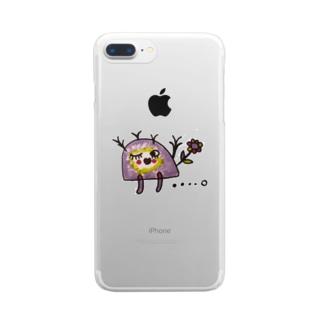 くじらんたん Clear smartphone cases