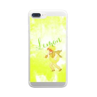 Lemon Clear smartphone cases
