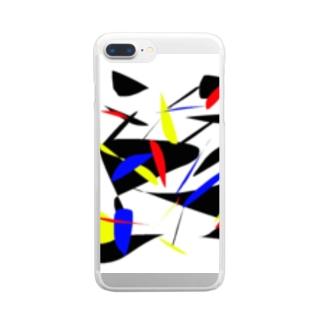 矛盾 Clear smartphone cases