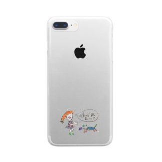 Shall We ダンス? Clear smartphone cases
