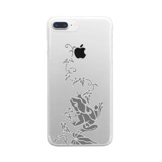 蔦とかえる Clear smartphone cases
