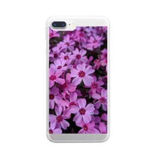 花🌼花 Clear smartphone cases