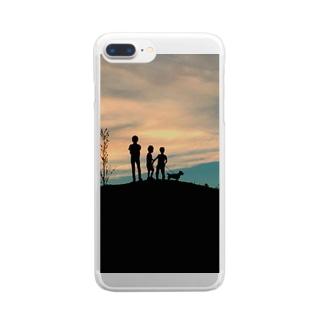 あの日の黄昏 Clear smartphone cases