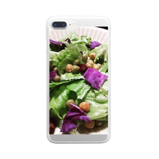 salad Clear smartphone cases