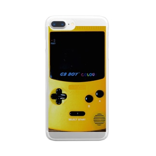 GB BOY Clear smartphone cases