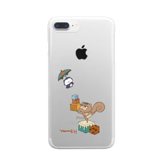 YAMMEH Clear smartphone cases