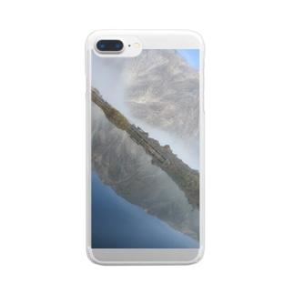 とある風景 Clear smartphone cases