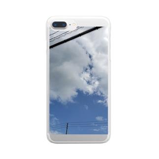 晴天の空 Clear smartphone cases