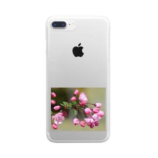 HANA畑シリーズ2 Clear smartphone cases