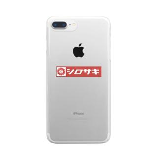 #シロサキ今日もパンまつり Clear smartphone cases