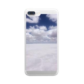 天国に一番近い場所 Clear smartphone cases
