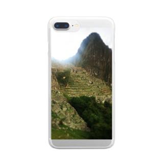 マチュピチュ Clear smartphone cases