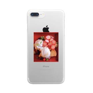 幸福論 Clear smartphone cases