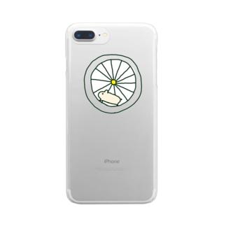 元気なハムスター Clear smartphone cases