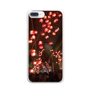 提灯 Clear smartphone cases