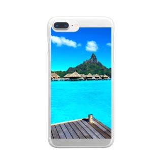 BORABORA島🏝 Clear smartphone cases
