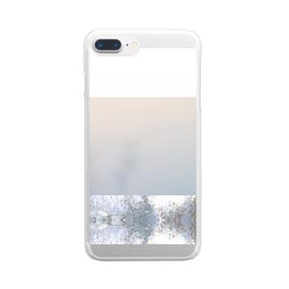 飯野 美穂 / miho iinoの霞む Clear smartphone cases