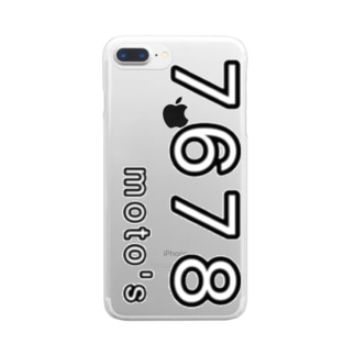7678 Clear smartphone cases