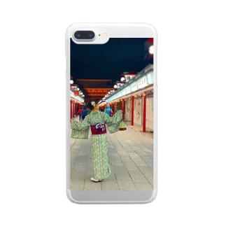 夏も終わり Clear smartphone cases
