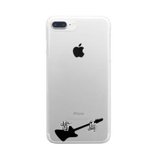 エレキベース サンダーバード 雷鳥グッズ Clear smartphone cases