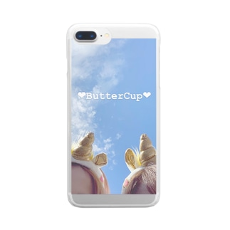 unicorn❤︎ Clear smartphone cases