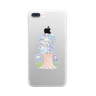 みんな違うからおもしろい Clear smartphone cases