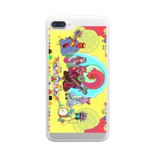 スマートフォンケース Clear smartphone cases