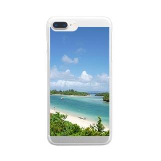石垣島川平湾 Clear smartphone cases