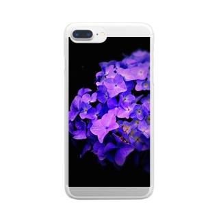 無常の花 Clear smartphone cases