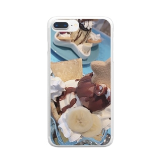7月7日 Clear smartphone cases