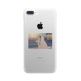 最後の冬 Clear smartphone cases