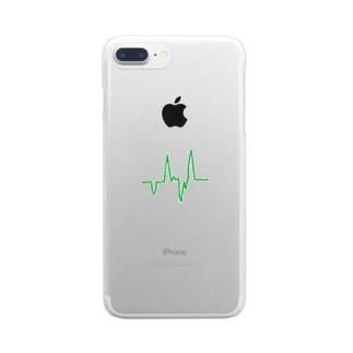 ラインシリーズ2 Clear smartphone cases