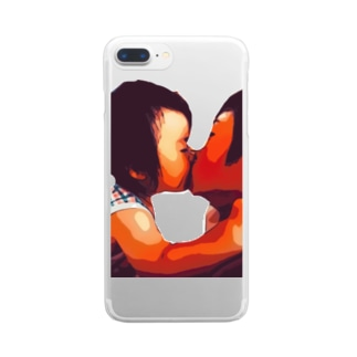 Love Clear smartphone cases