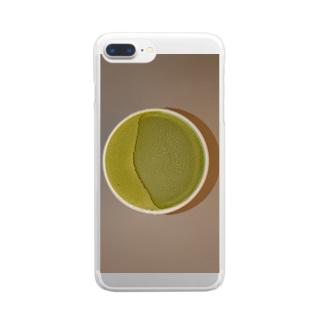 新幹線アイス Clear smartphone cases