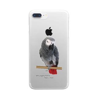 ヨウム ver.02 Clear smartphone cases