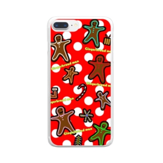 FD/Gingerbread man~ジンジャーマン~ Clear smartphone cases