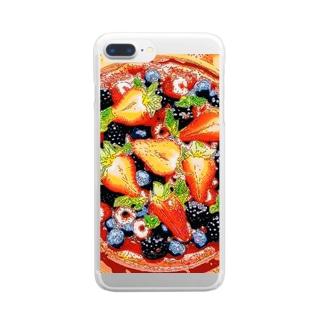 ベリータルト Clear smartphone cases