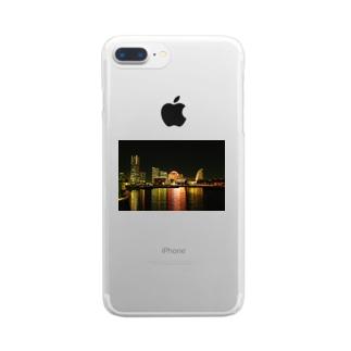 横浜 Clear smartphone cases
