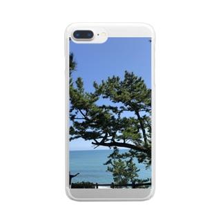 松さん Clear smartphone cases