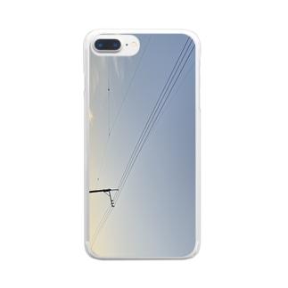 ゆうぐれ。 Clear smartphone cases
