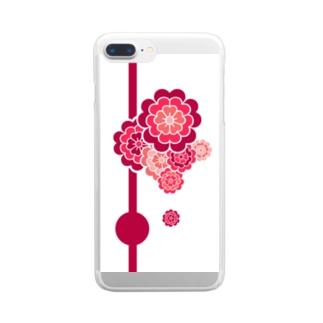 ここのえざくら Clear smartphone cases