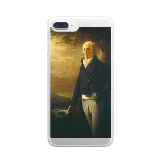 ヘンリー・レイバーン作 肖像画「デイビッド・アンダーソン」 Clear smartphone cases
