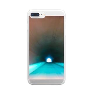 タイムスリップ Clear smartphone cases